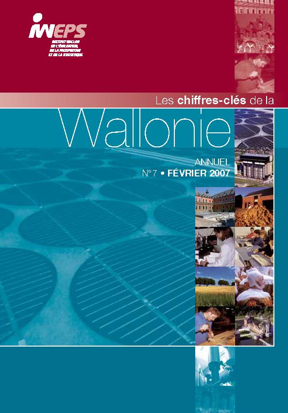 Chiffres clés de la Wallonie n°7