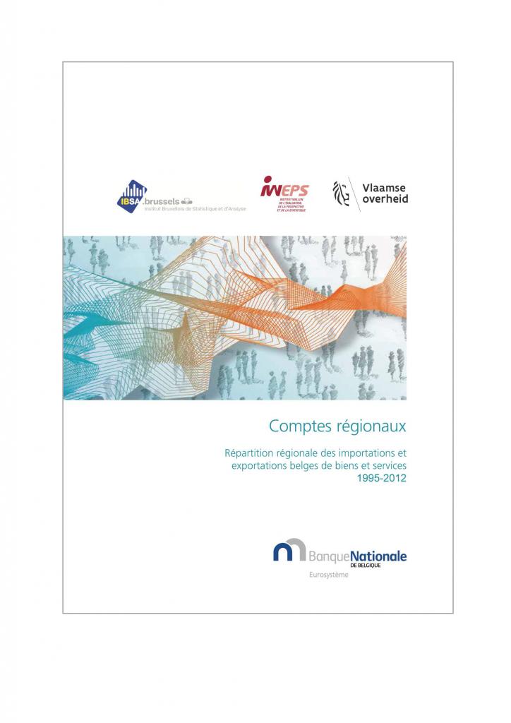 Répartition régionale des importations et exportations belges de biens et services 1995-2012