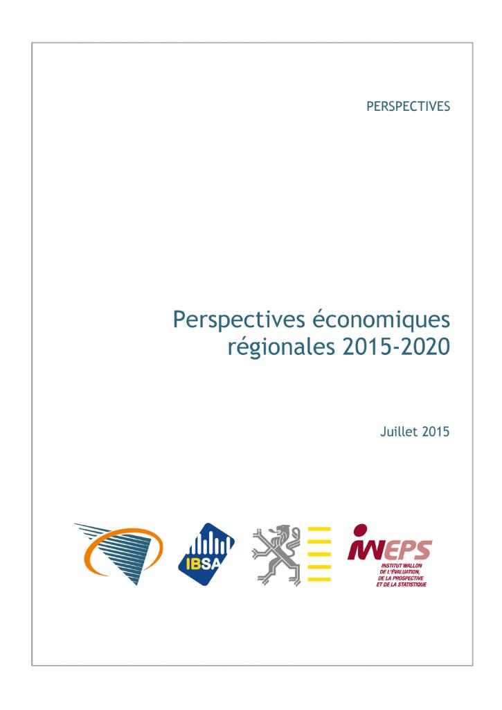 Perspectives économiques régionales 2015-2020