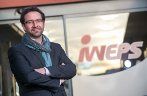 20160108 - BELGRADE, BELGIUM: Sébastien Brunet, General Administrator of IWEPS, the Walloon statistics institute, posed for the photographer at the IWEPS headquarters in Belgrade, near Namur (January 2016). Picture by Denis Vasilov.
