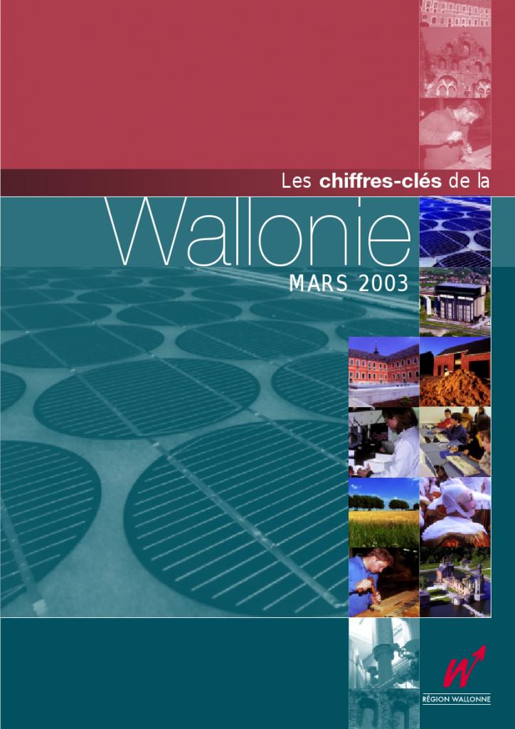 Chiffres clés de la Wallonie n°1