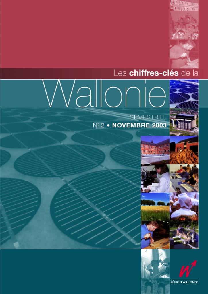 Chiffres clés de la Wallonie n°2