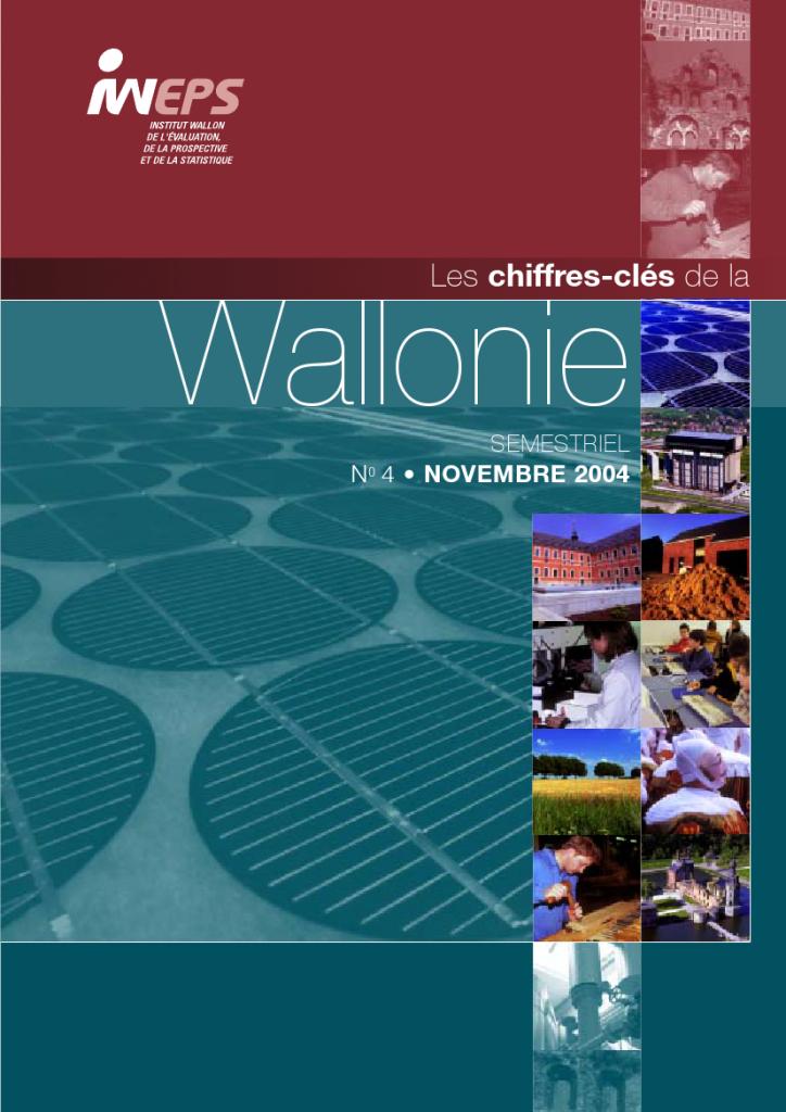 Chiffres clés de la Wallonie n°4