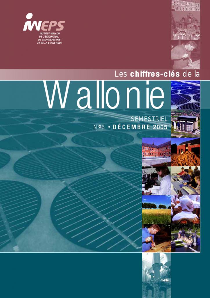Chiffres clés de la Wallonie n°6