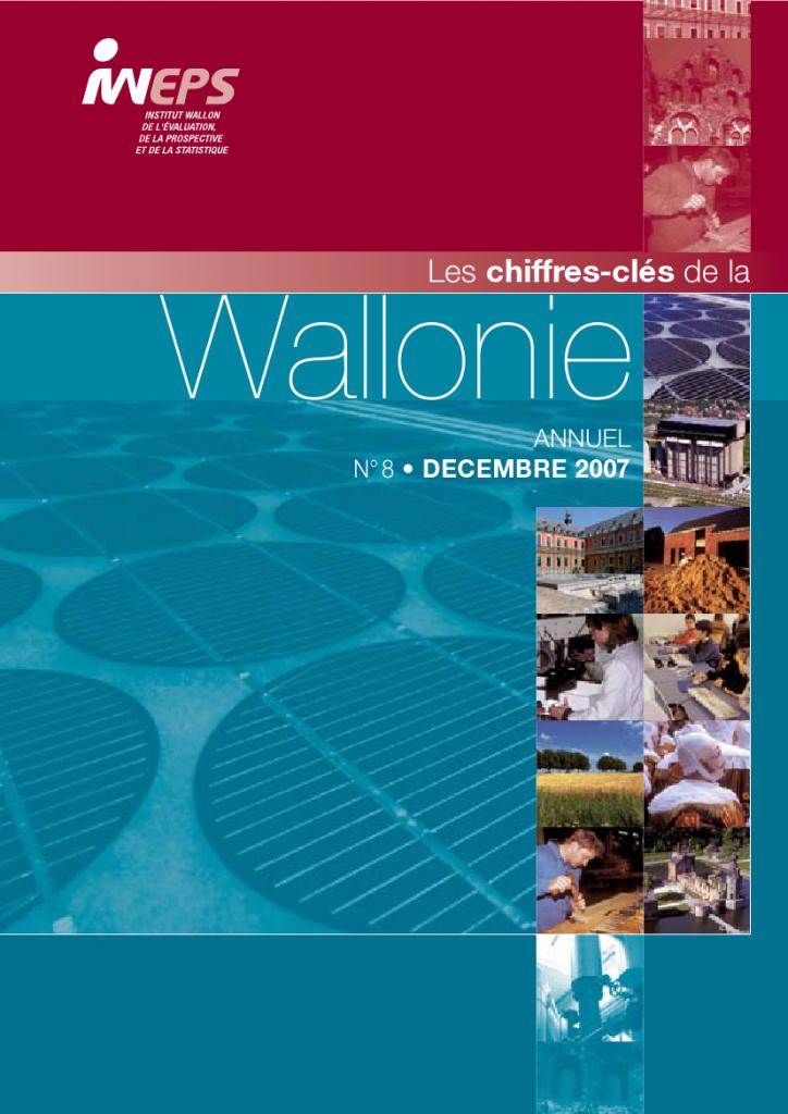 Chiffres clés de la Wallonie n°8