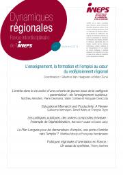 L'enseignement, la formation et l'emploi au cœur du redéploiement régional
