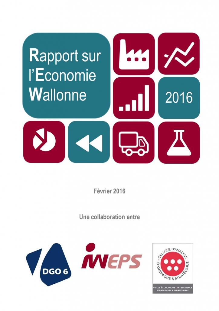 Rapport sur l'Economie wallonne 2016