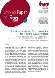 L'innovation sociale dans l'accompagnement des personnes âgées en Wallonie