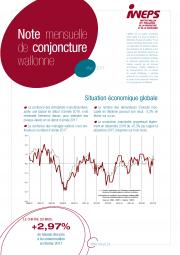 Note mensuelle de conjoncture wallonne - Mars 2017