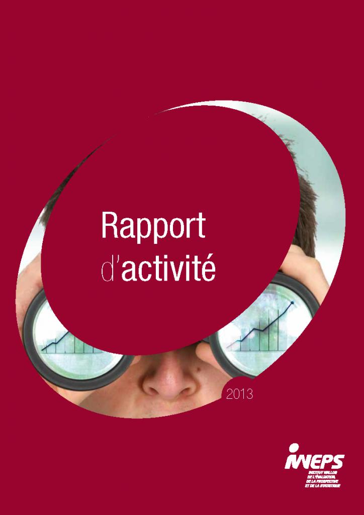 Rapport d'activité - 2013
