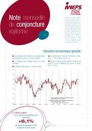 Note mensuelle de conjoncture wallonne - Mars 2016