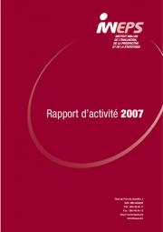 Rapport d'activité - 2007