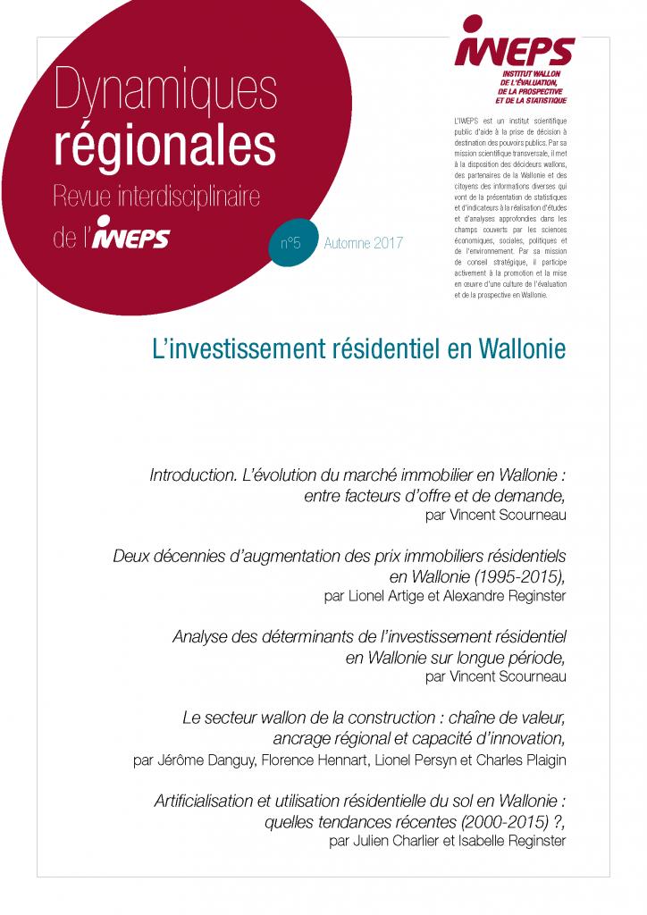 L'investissement résidentiel en Wallonie