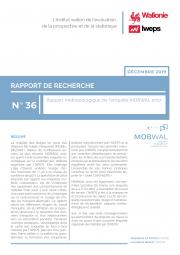 Rapport méthodologique de l'enquête MOBWAL 2017