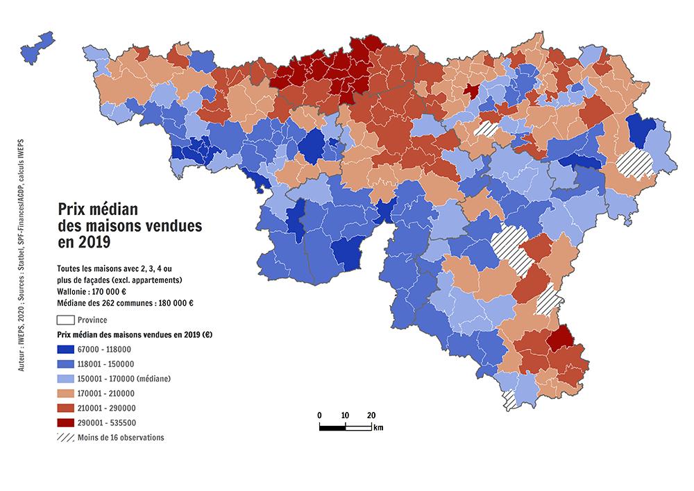 Prix Moyen Du Terrain A Batir Immobilier En Wallonie Iweps
