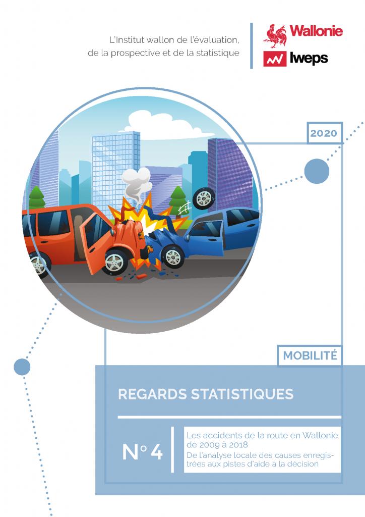 Les accidents de la route en Wallonie de 2009 à 2018