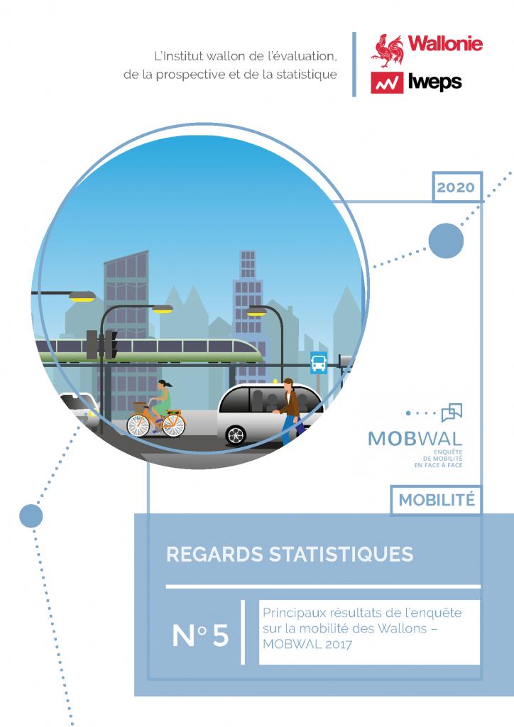 Principaux résultats de l'enquête sur la mobilité des Wallons – MOBWAL 2017