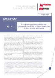 Le chômage temporaire en Wallonie pendant la crise sanitaire – Focus sur le tourisme