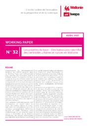 Les polarités de base – Des balises pour identifier des centralités urbaines et rurales en Wallonie